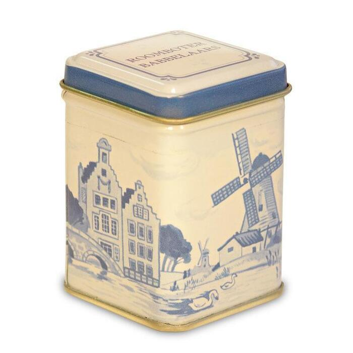 Rosenberg Roomboter babbelaars Delfts blauw blik (75g)