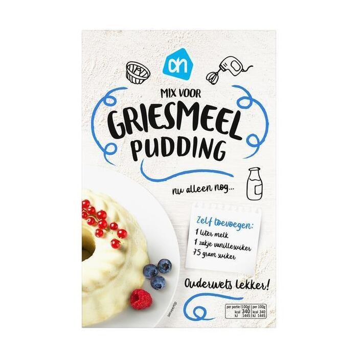 Griesmeelpudding mix (500g)