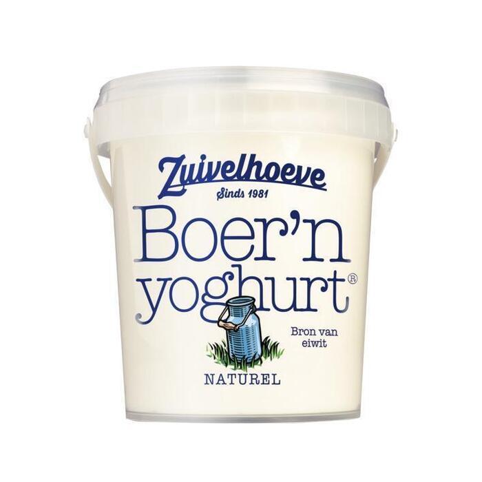 Boer'n yoghurt naturel (bak, 800g)