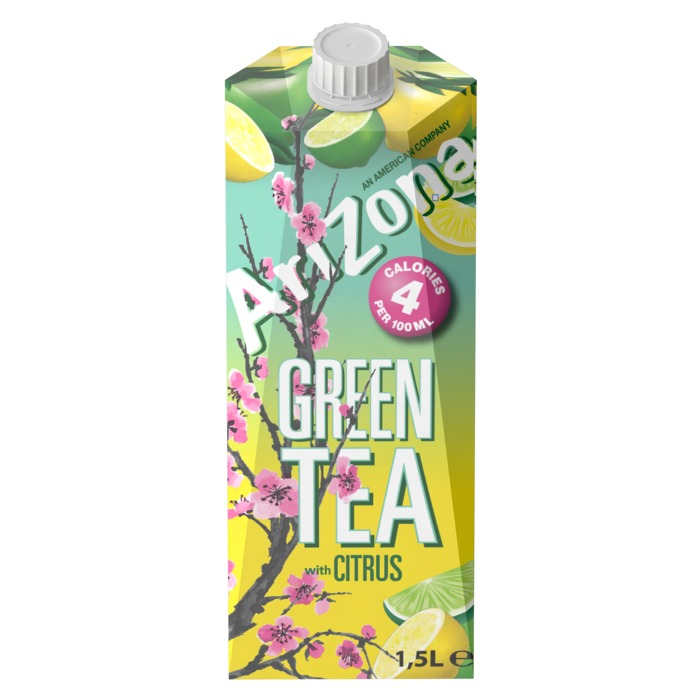 Arizona Green tea citrus low calorie (rol, 150 × 1.5L)