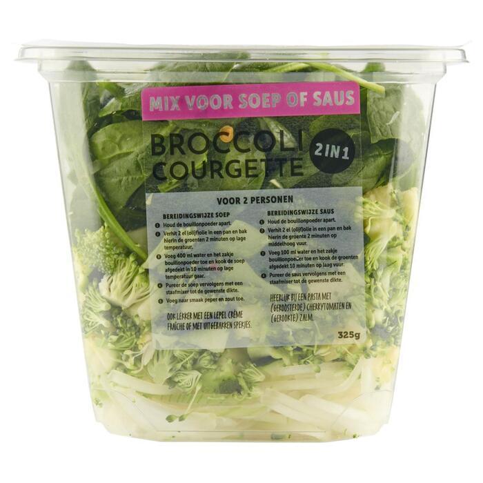 Coop Pureersoep broccoli & courgette (325g)