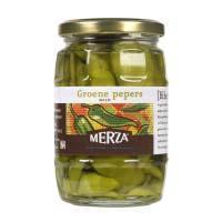 Merza groene pepers 310g (290g)