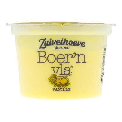 Zuivelhoeve BOER'N VLA® Vanille 200 GRM (200g)