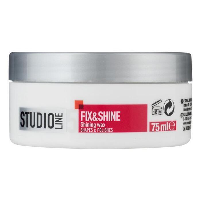 Studio Line Fix & shine high gloss wax (75ml)