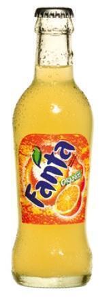 Fanta Orange (glas, 200ml)
