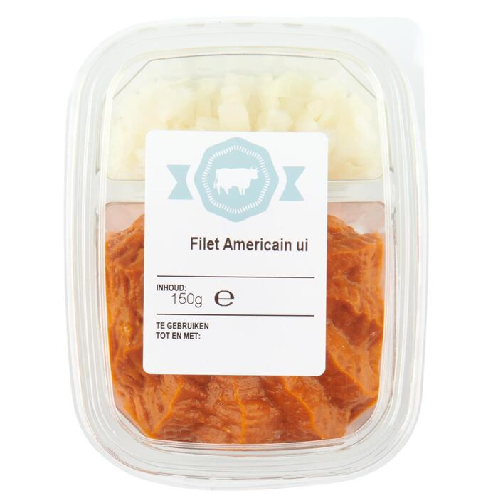 Filet americain met ui (150kg)