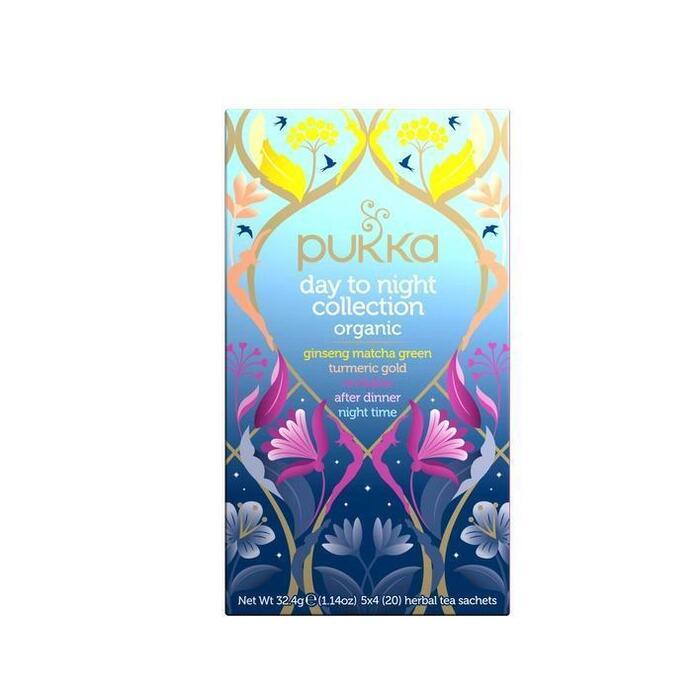 Pukka BE-BIO-01 DaytoNightCollect 20s 4x (20 × 31.6g)