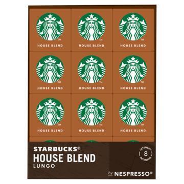 Starbucks® by Nespresso® House Blend Medium Roast Capsules 12 x 10 x 5,7 g (12 × 57g)