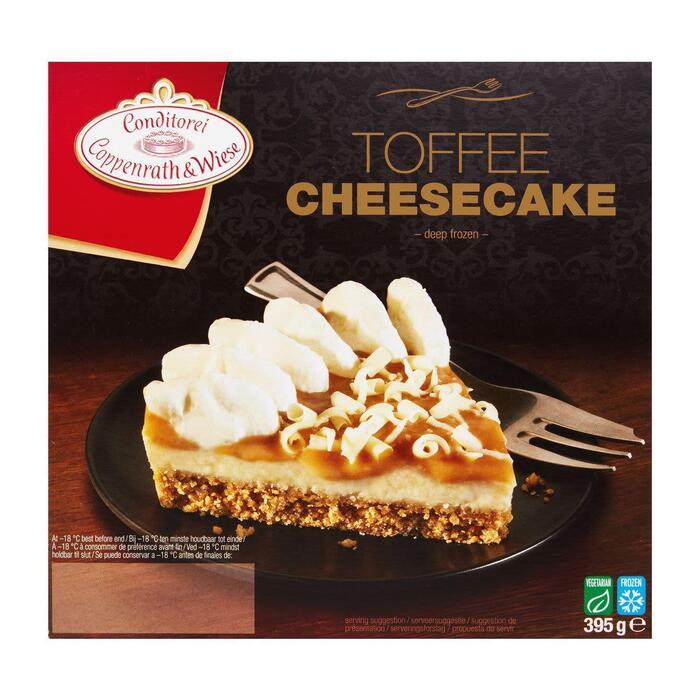 Coppenrath & W. Toffee Schuimtaart (395g)