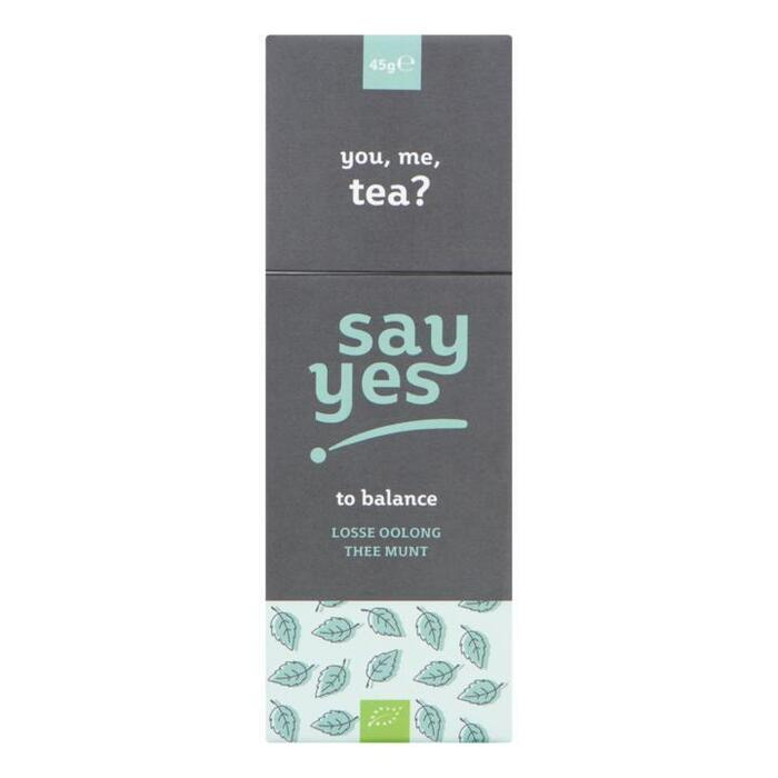 Say Yes Losse Oolong Thee Munt 45 g (45g)