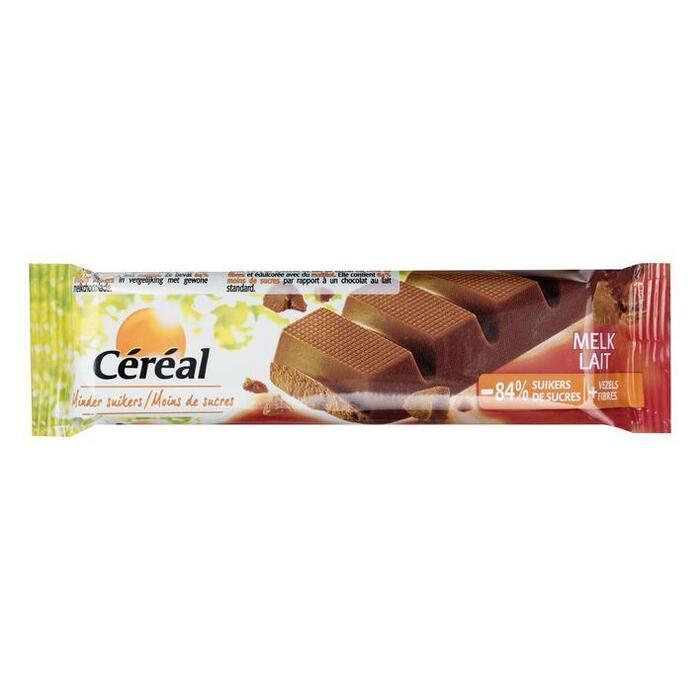 Cereal Chocoladereep melk (42g)