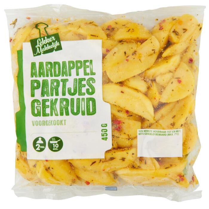 Aardappelpartjes gekruid (450g)