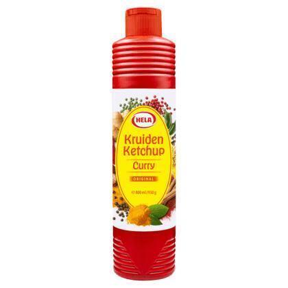 Curry Kruiden Ketchup Original (knijpfles, 0.5L)