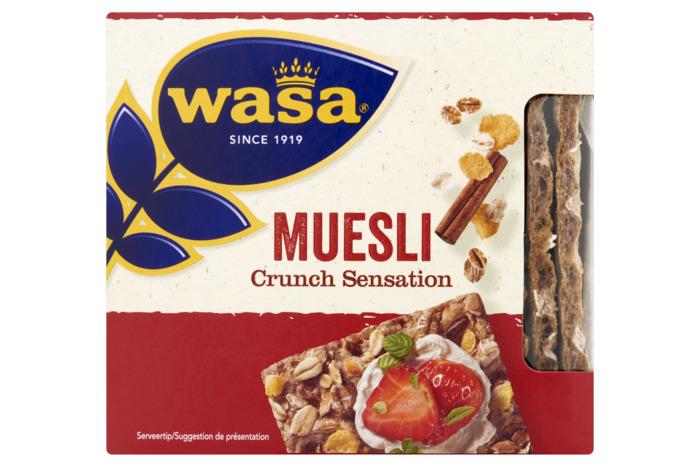 Crunch sensation muesli (17 × 12.9g)
