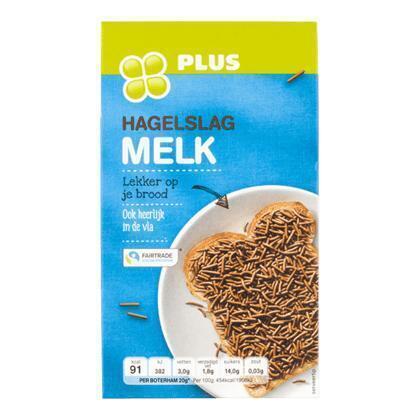 Hagelslag melk chocolade (400g)