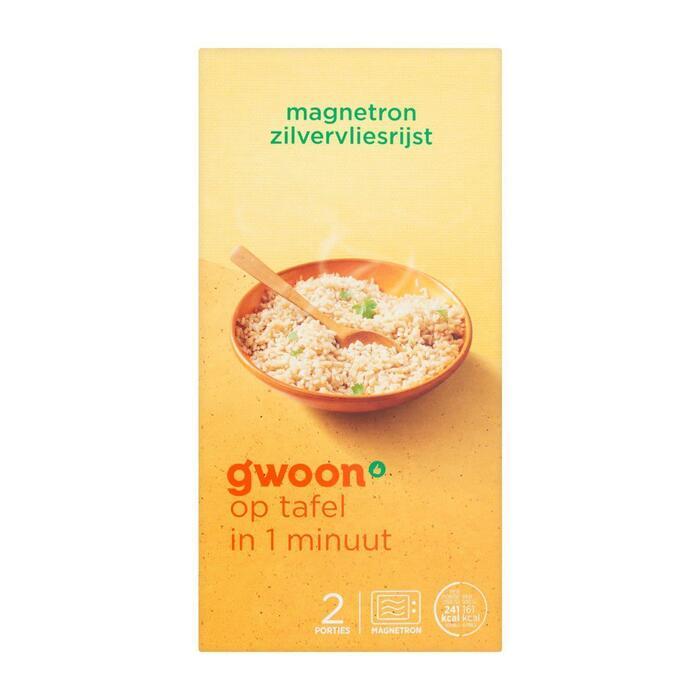 g'woon Zilvervlies rijst (300g)