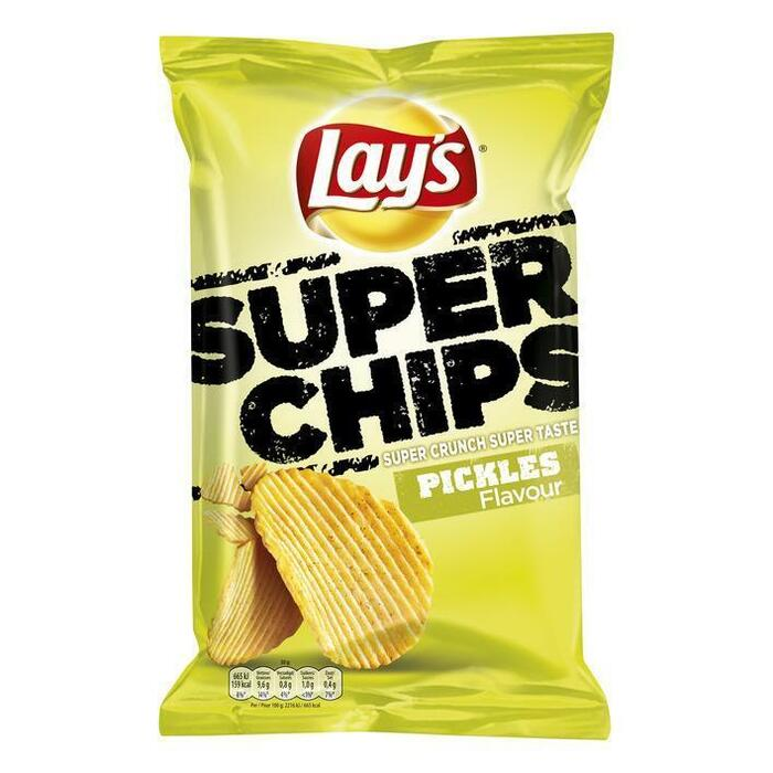 Lay's Superchips pickles (200g)