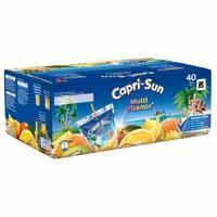 Capri-Sun Multivitamin Pouch 0.20L 1x40 (40 × 200ml)