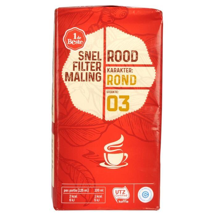 Filterkoffie roodmerk (250g)