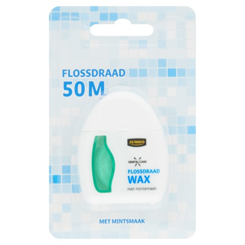 Jumbo Dental Care Flossdraad Wax met Mintsmaak 50m