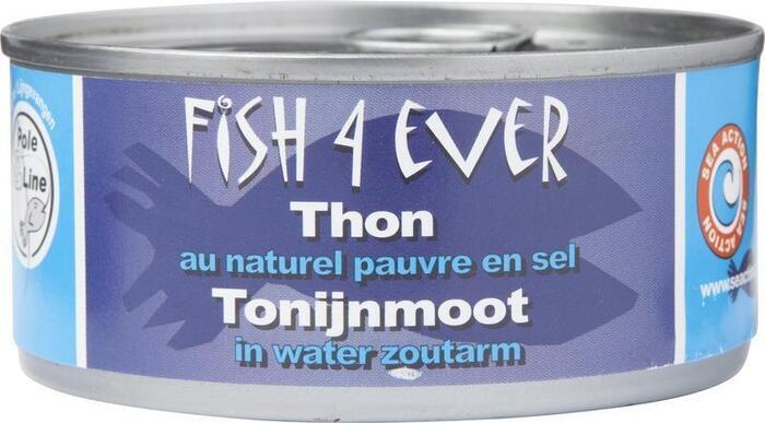 Tonijnmoot in water zoutarm (160g)