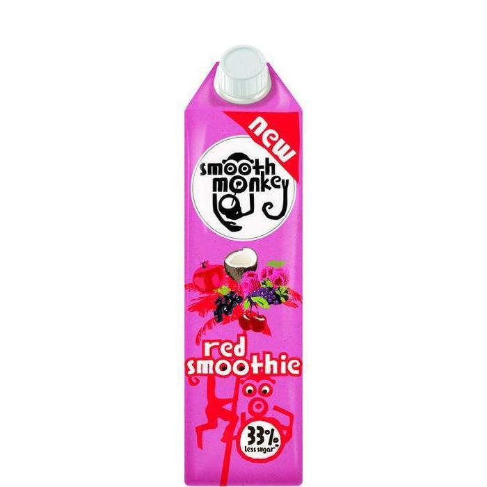 Smooth monkey Red smoothie (1L)