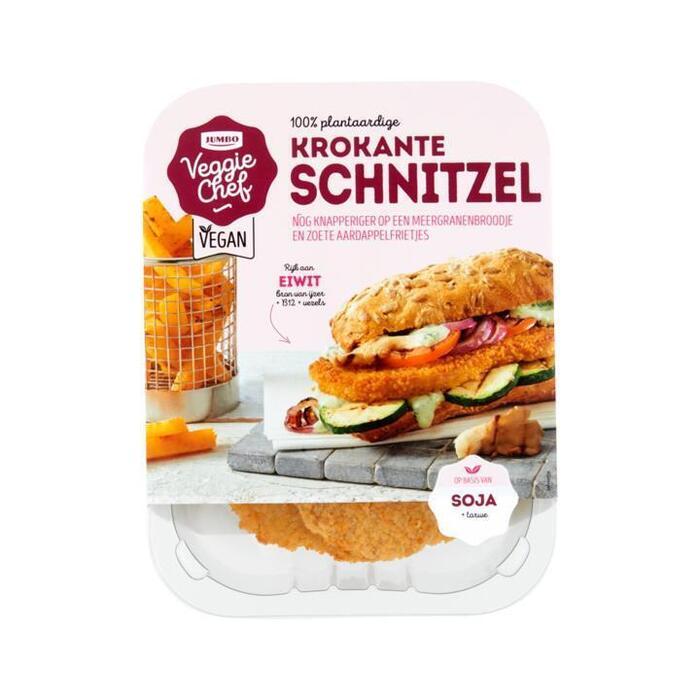 Jumbo Veggie Chef 100% Plantaardige Krokante Schnitzel 200g (200g)