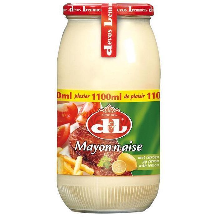 Devos Lemmens Mayonaise citroen (1.1L)