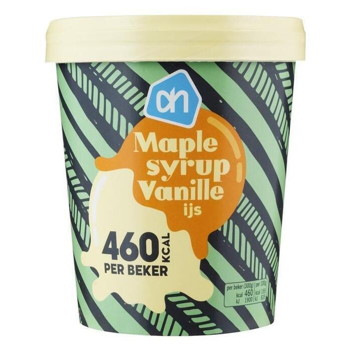 AH Maple syrup vanille ijs (0.5L)