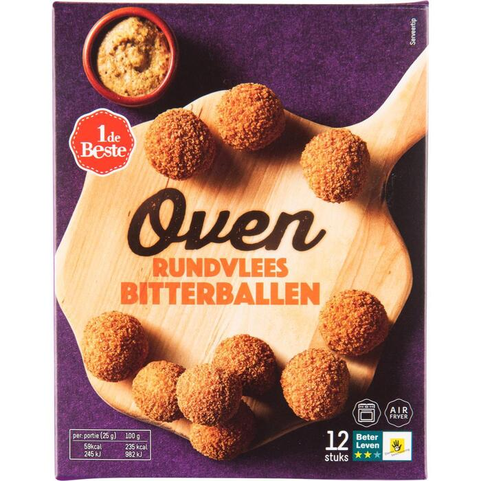 Oven bitterballen 12 stuks (300g)