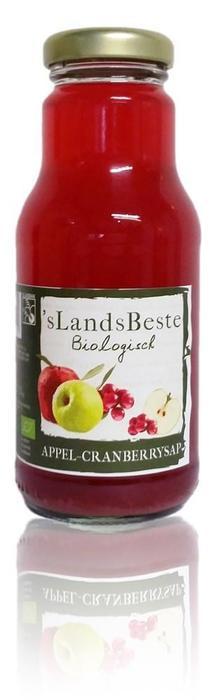 'sLandsBeste Bio Appel Cranberry 0,25 L (250ml)