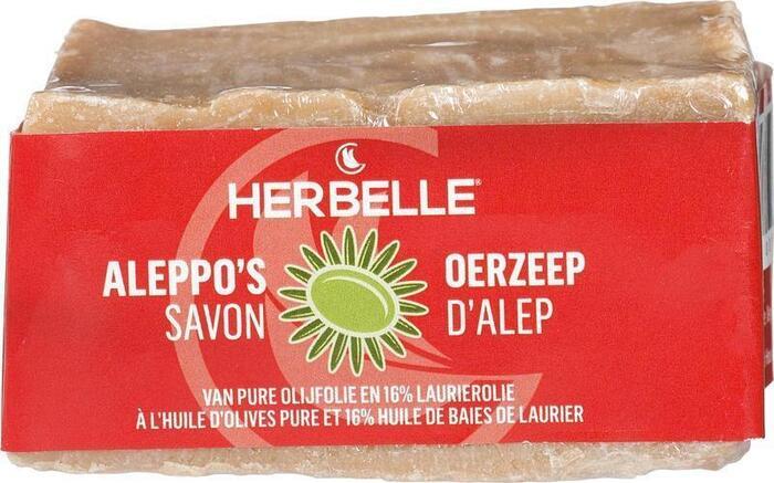 Aleppo's Oerzeep Olijfolie met 16% Laurierolie (in display) Aleppo 180g (180g)