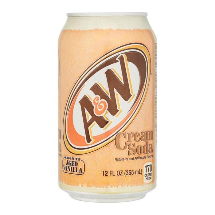 A&W Cream Soda 355ml (35.5cl)