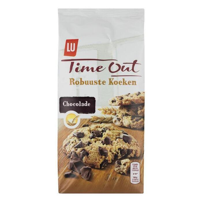 Time Out Robuuste Koeken Chocolade (184g)