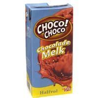 Halfvolle chocolademelk (drankkarton, 1L)