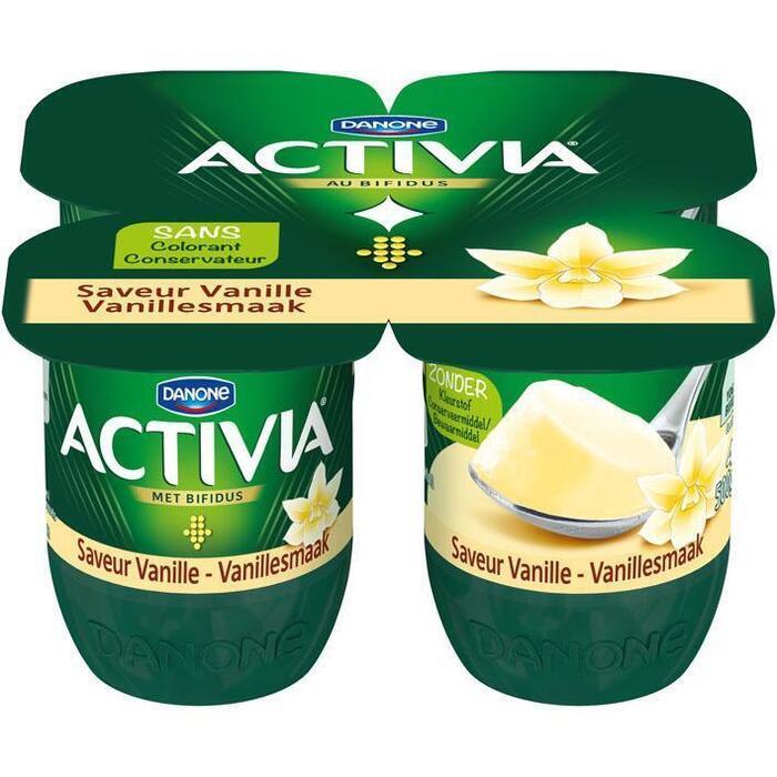 Activia Vanille stand (4 × 500g)