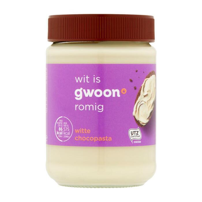 g'woon Witte Chocopasta 400 g (Stuk, 400g)