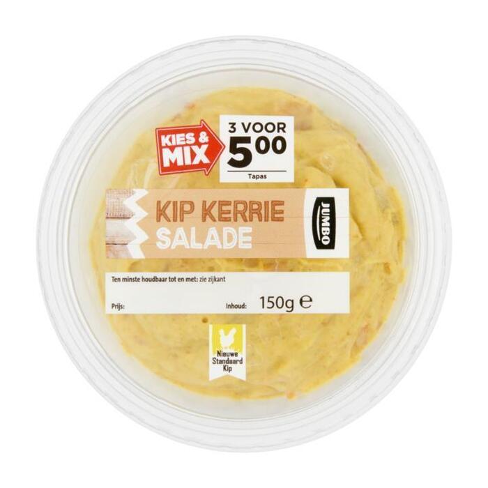 Kip Kerrie Salade met Nieuwe Standaard Kip (150g)