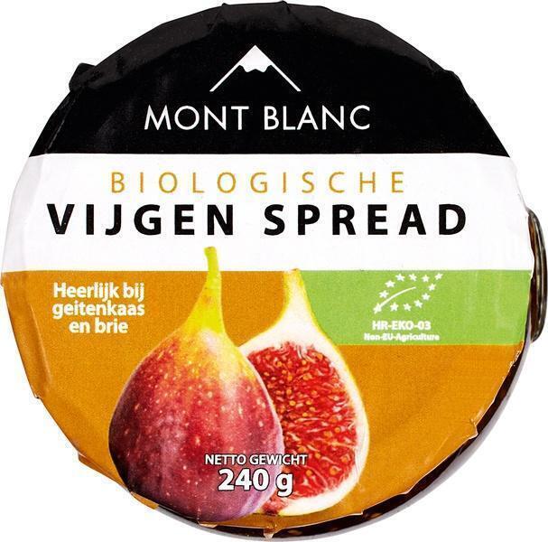 Vruchtenspread vijgen (pot, 240g)
