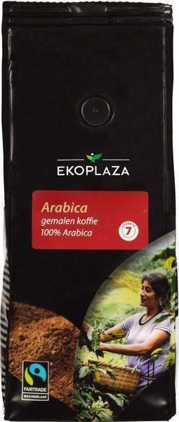 Arabica gemalen koffie (zak, 500g)