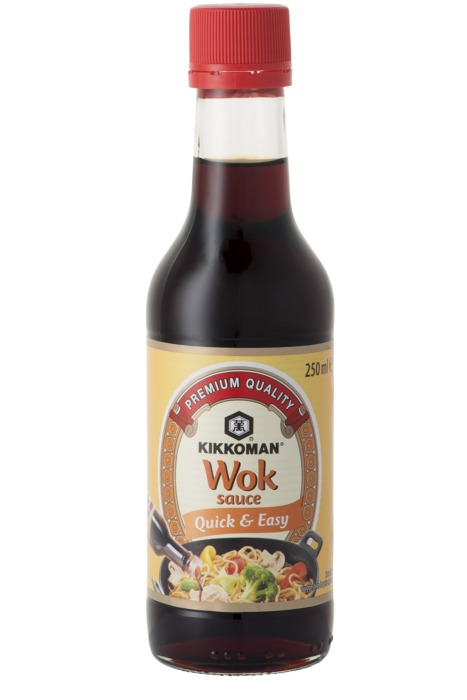 101930 Kikkoman Woksaus 250 MLT fles (250ml)