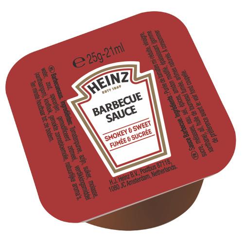Heinz Barbecue Sauce 100 x 25 g (25g)