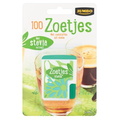 Jumbo Zoetjes Stevia 100 Stuks 5g (5g)