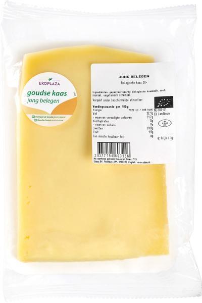 Jong belegen kaasplakken 50+ (175g)