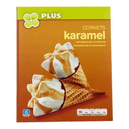 Cornets Karamel (6 × 0.72L)