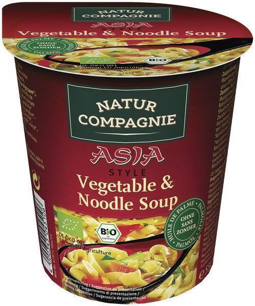 Aziatische groentesoep instant (55g)