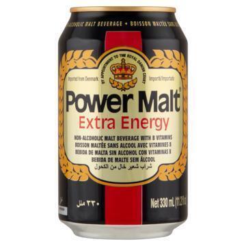 Power Malt - Extra Energy - Blik 330ML (33cl)