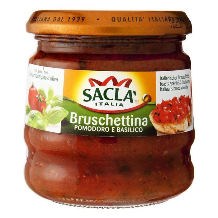 Saclà Bruschettina Pomodoro e Basilico 190g (190g)