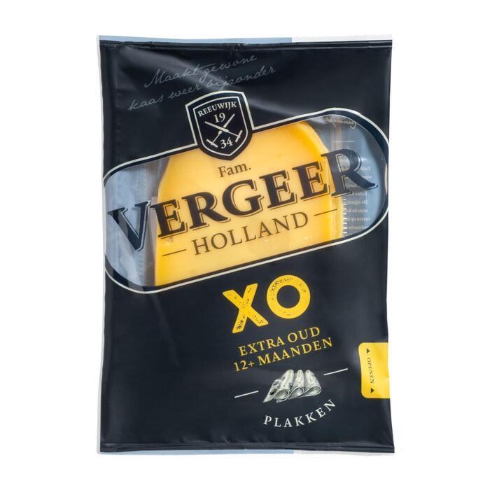 Vergeer Holland XO Extra Oud Plakken Kaas 48+ 175 g (Stuk, 175g)