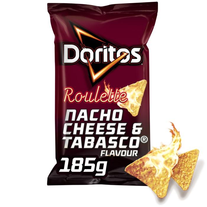 Roulette Tabasco chips (185g)